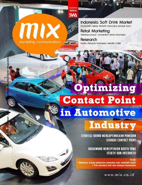 Optimizing Contact Point in Automotive Industry (MIX Edisi 10/2012)