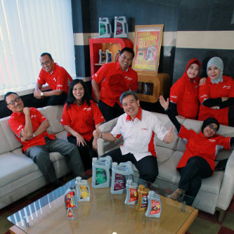 Tim Retail Marketing Lubricants Pertamina.