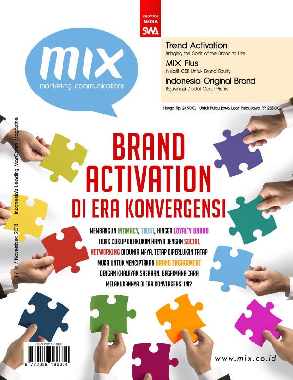 Brand Activation di Era Konvergensi (MIX Edisi November 2013)