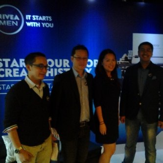 "Nivea Men kembali meluncurkan kampanye ""It Starts With You"" bertajuk ""Make Your Story, Create History""."