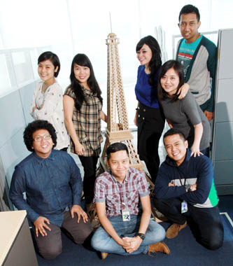 Digital Marketing team XL AXIATA