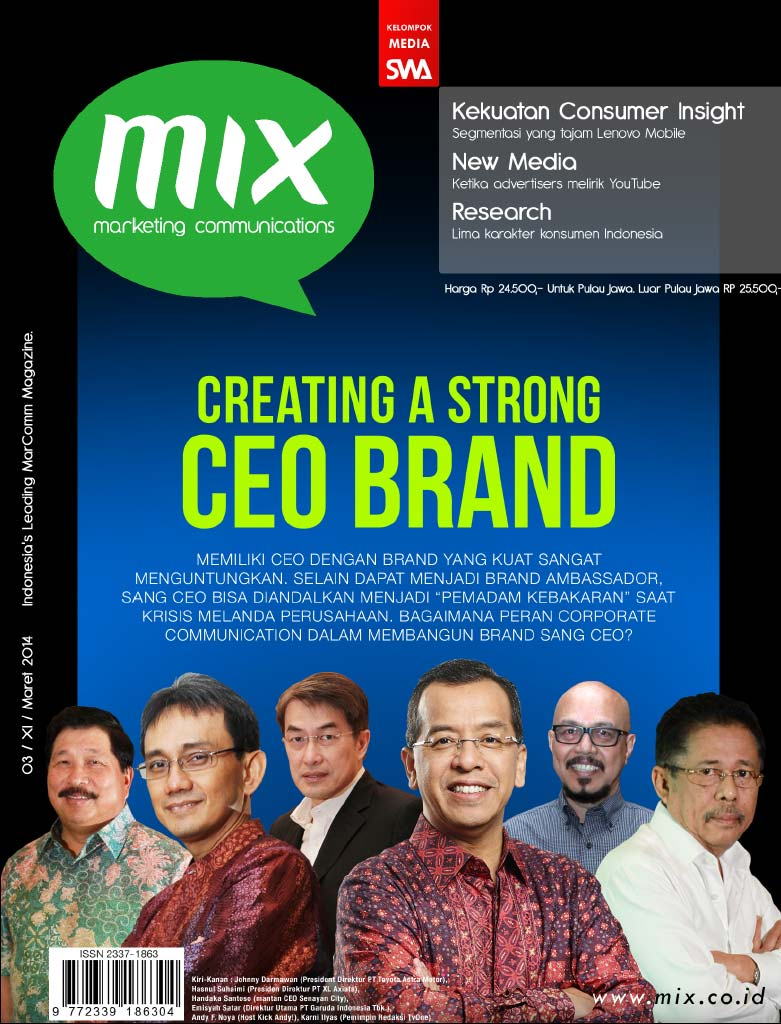 Creating a Strong CEO BRAND (MIX Edisi Maret 2014)