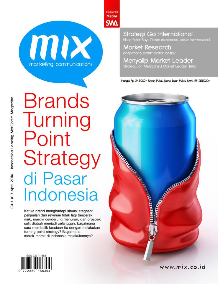 Brands Turning Point Strategy di Pasar Indonesia (MIX Edisi April 2014)