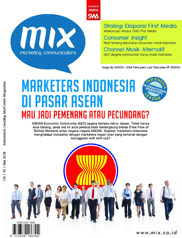 MARKETERS INDONESIA DI PASAR ASEAN (MIX Edisi Mei 2014)