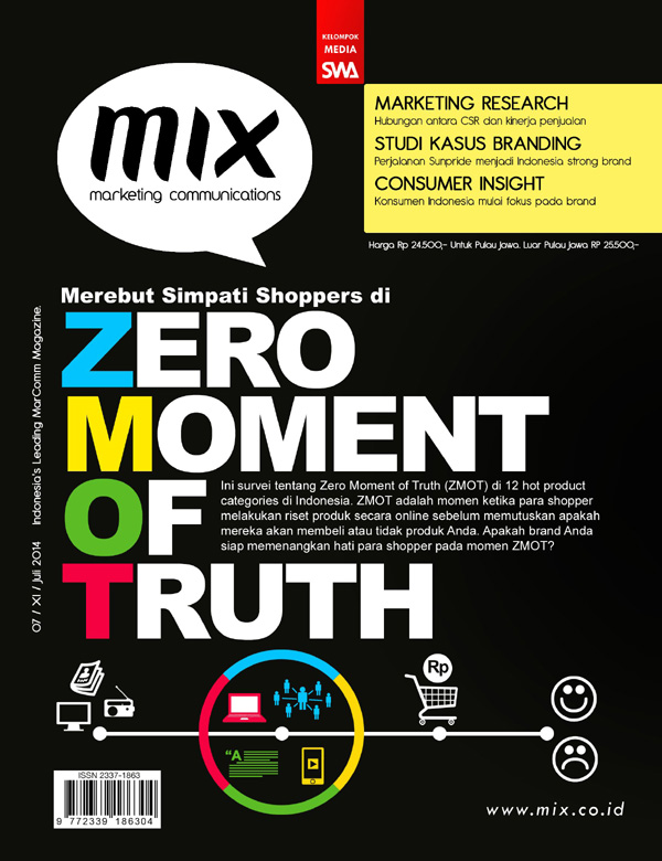 Merebut simpati shoppers di Zero Moment of Truth ZMOT (MIX Edisi Juli 2014)
