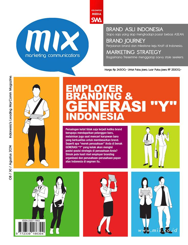 EMPLOYER BRANDING FOR GENERATION Y IN INDONESIA (MIX Edisi Agustus 2014)