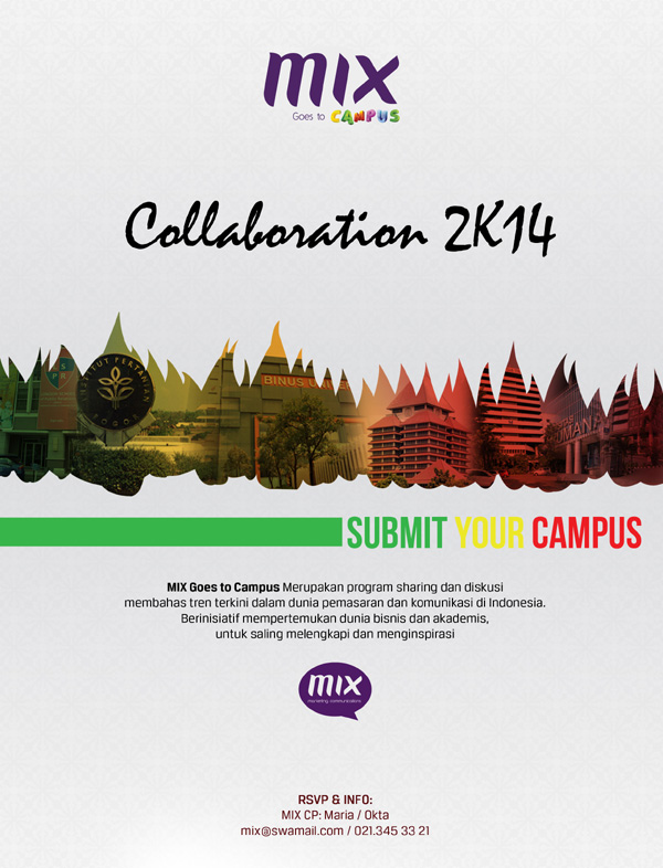 MIX Goes to Campus: Collaboration 2K14