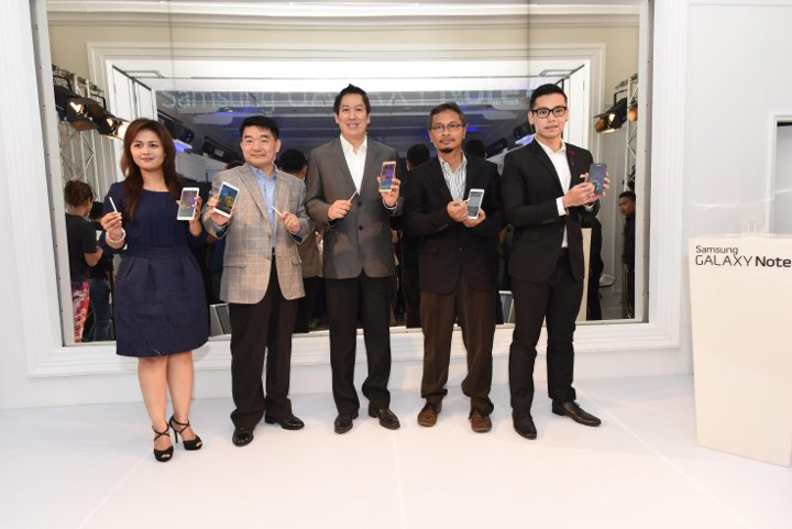 Launching Samsung Galaxy Note 4