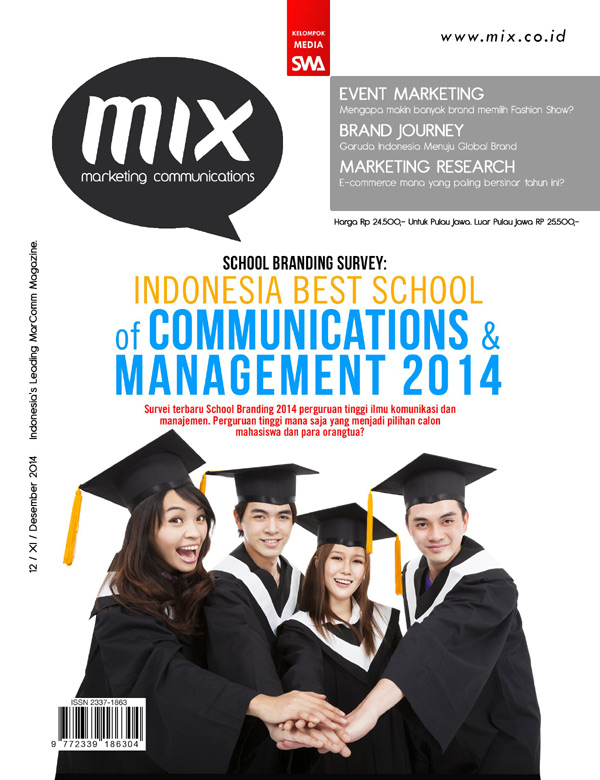 School Branding Survey: Indonesia Best School of Communications & Management 2014