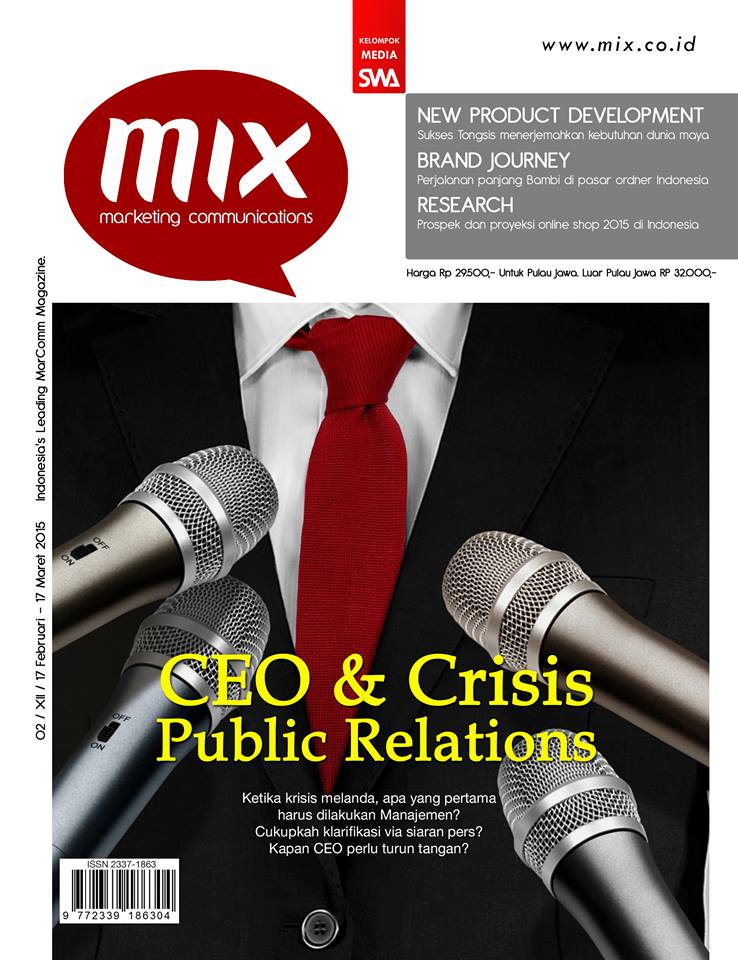CEO & Crisis Public Relations (MIX MarComm Edisi 02/2015)