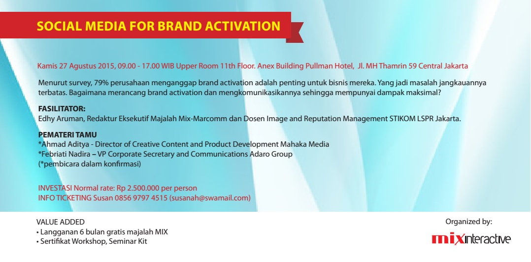 Social Media for Brand Activation