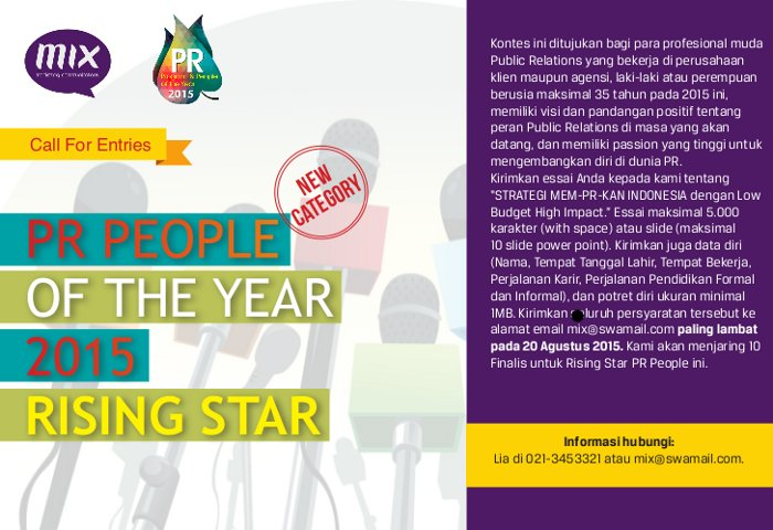 PR People Rising Star