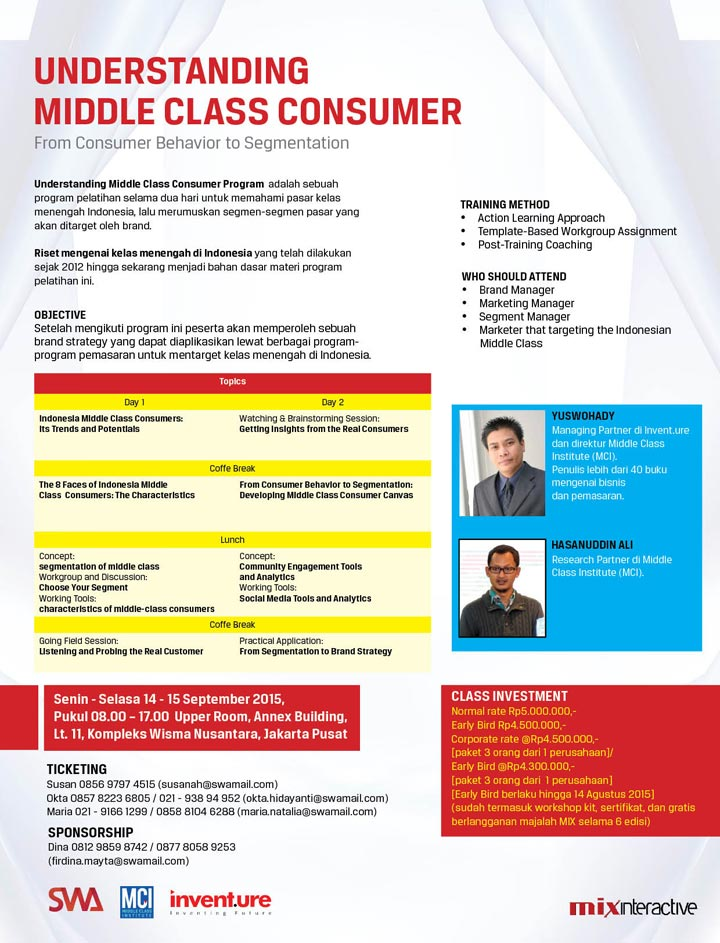 Understanding Middle Class Consumer - From Consumer Behaviour to Segmentation