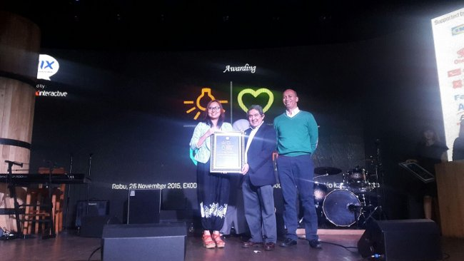 Indonesia Most Experiential Brand Activation Award 2015 (1)