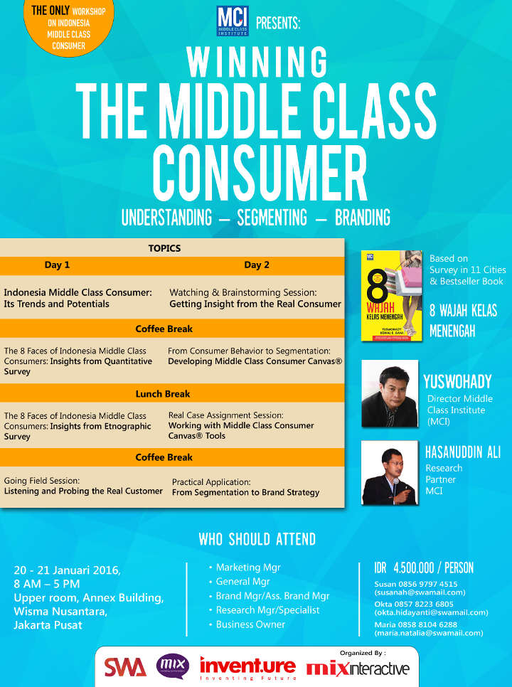 Winning The Middle Class Consumer - Understanding, Segmenting, Branding
